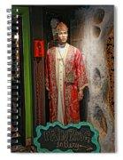 Luna Parc 42 Spiral Notebook