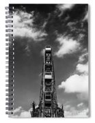 Luna Park, Coney Islance Brooklyn Ny Spiral Notebook