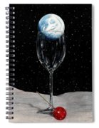 Lunar Cocktail Spiral Notebook