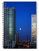 Lunar Eclipse-04apr2015-2 Spiral Notebook