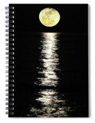 Lunar Lane Spiral Notebook