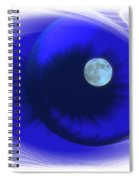 Lunarblue Spiral Notebook
