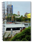 Lunch At The Pier Spiral Notebook