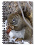 Lunch On The Patio Spiral Notebook