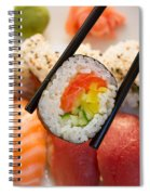 Lunch With  Sushi  Spiral Notebook
