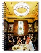 Luncheon Trays Spiral Notebook