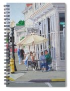 Lunchtime In Florence, Or Spiral Notebook