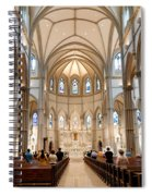 Lunchtime Mass At Saint Paul Cathedral Pittsburgh Pa Spiral Notebook