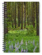 Lupine Carpet Spiral Notebook
