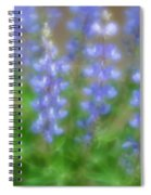 Lupine Soft Focus Spiral Notebook