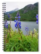 Lupines And Water Spiral Notebook