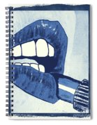 Luscious Lips Sink Ships Spiral Notebook