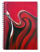 Luscious Red Spiral Notebook