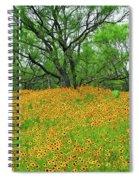 Lush Coreopsis Spiral Notebook