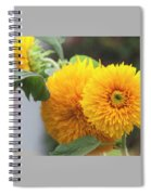 Lush Sunflowers Spiral Notebook