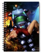 Lust In Space Spiral Notebook
