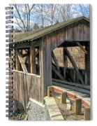 Luther Mills Bridge Spiral Notebook