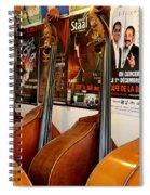 Luthier 2 Spiral Notebook
