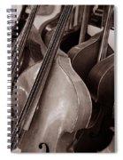 Luthier 4c Spiral Notebook
