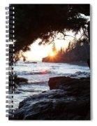 Lutsen Shore Four Spiral Notebook