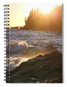Lutsen Shore Spiral Notebook