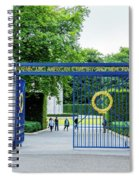 Luxembourg American Cemetery And Memorial Spiral Notebook