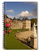 Luxembourg Palace Spiral Notebook