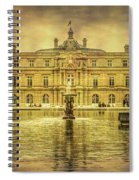 Luxembourg Palace Paris Spiral Notebook