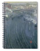 Luxembourg Station Spiral Notebook