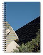 Luxor Hotel Las Vegas Spiral Notebook