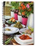 Luxurious Breakfast Buffet  Spiral Notebook