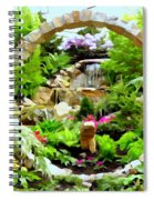 Luxury Landscape Spiral Notebook