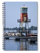 Lyman Harbor Lighthouse Spiral Notebook