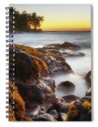 Lyman's Sunset Spiral Notebook