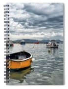 Lyme Regis Harbour - March Spiral Notebook
