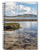Lyme Regis Seascape 3 - October Spiral Notebook