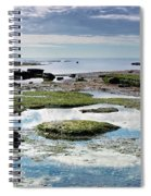 Lyme Regis Seascape 4 - October Spiral Notebook