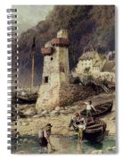 Lynmouth In Devonshire Spiral Notebook