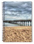 Lynnhaven Fishing Pier, Bay Side Spiral Notebook