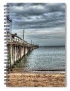Lynnhaven Fishing Pier, Ocean Side Spiral Notebook