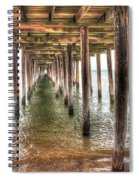 Lynnhaven Fishing Pier, Pillars To The Sea Spiral Notebook