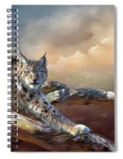 Lynx Spirit Spiral Notebook