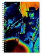 L S Pastel Oakland 2 Spiral Notebook