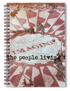 Lyrics Quote Spiral Notebook