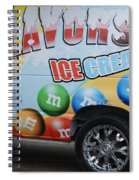 M And M Flavors For The Kids Spiral Notebook