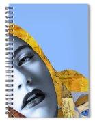 M. Butterfly Spiral Notebook
