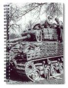 M4 Sherman Spiral Notebook