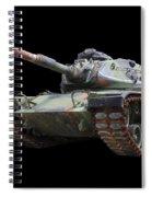 M48a2 Tank Spiral Notebook