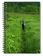 Ma At Section Hiker Spiral Notebook