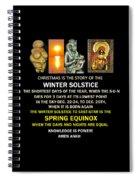 Ma Ra Solstice Spiral Notebook